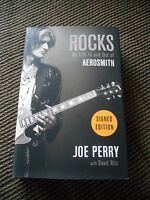 Joe Perry Aerosmith My Life In & Out Signed Autographed Book PSA Guaranteed #2