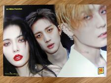 TRIPLE H - RETRO FUTURISM  (TYPE A) [ORIGINAL POSTER] K-POP *NEW* HYUNA