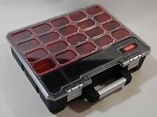 Keter Heavy Duty Tool Part Storage Organiser Box Inner Compartment Handle Lid UK