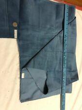 Vintage Corduroy Fabric Yardage Blue-Sewing Crafts 1+ Yards