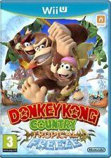 Donkey Kong Country: Tropical Freeze (Wii U Game) * Très bon état *