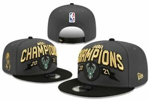 Milwaukee Bucks 2021 NBA Champions New Era 59Fifty Snapback CAP
