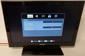 "Toshiba 24SLV411U 24"" LCD TV Television DVD Player Combo HDMI 1080p PC Monitor"