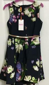 TED BAKER - Kensington Floral pleated skirt dress - Age 10 (Brand New With Tag)
