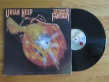 MICK BOX of URIAH HEEP signed RETURN TO FANTASY 1975 Album / Record COA