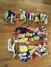 Set of 40 Antique Wool-blend Nautical Signal Code Flags - Dettra Flag Co.