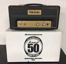Marshall JTM 1 Head JTM1 50th Anniversary New w NOS Mullard UK 12T7 JTM1H