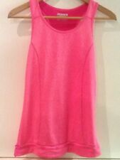 Layer8 Performance Quick Dry Athletic Racerback Tank Top Pink S Small