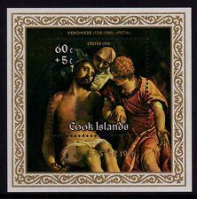"Cook Islands 1976 Easter mini sheet ""Veronese""  MNH"