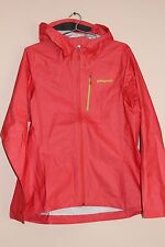 Patagonia M10 Women's Shell Jacket Tomato LARGE NEW