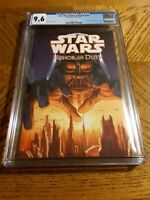 STAR WARS: HONOR AND DUTY TPB cgc 9.6 nm 2006 Series #1 Near Mint darth vader
