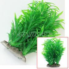 Artificial Water Plants for Fish Tank Aquarium Plastic Grass Decor Ornament