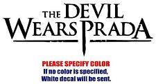 "The Devil Wears Prada C Band Vinyl Decal Car Sticker Window bumper Laptop 7"""