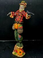 "Lenox Halloween/Fall ""Harvest Scarecrow"" Pencil Figurine"