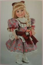 NEW AND NRFB MARIE OSMOND VICTORIAN VALENTINE PORCELAIN DOLL COA #256
