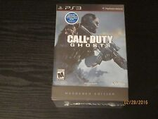 CALL OF DUTY GHOSTS LIMITED HARDENED Playstation 3 PS3 edition brand new sealed