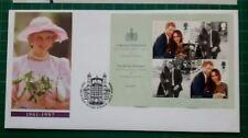 2018 The Royal Wedding M/S on Diana cover Windsor FDI postmark