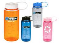 Nalgene 16oz Wide Mouth BpA Free Plastic Tritan Screw Water Bottle 500mL Small