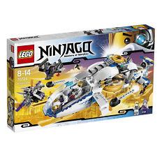 LEGO Ninjago NinjaCopter #70724 incl. Battle-scarred Zane & Pixal - NLA & RARE!!