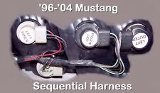 2002 02 MUSTANG SEQUENTIAL BRAKE & TAIL LIGHT HARNESSES - NO SPLICING, FREE SHIP