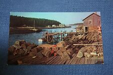 Vintage Postcard Typical Scene Of The Gaspe Peninsula, Canada