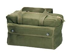 "Rothco 9182 Olive Drab G.i. Type Brass Zipper Mechanics Tool Bag 11"" X 7"" X 6"""