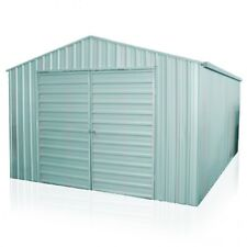 YardPro Nova Portal Frame Workshop 3.6m x 5.4m x 2.1m Garden Shed Zinc