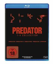 4 Blu-ray-box ° predator Collection ° 1 + 2 + 3 + 4 ° Bluray ° nuevo embalaje original &