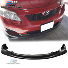 For 09-10 Toyota Corolla Sedan K-Style Front Bumper Lip Spoiler PU Polyurethane