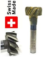 Swiss Vallorbe 25mm x 10mm x 12 mm 8 Flute T-Slot cutter mill milling  63/64