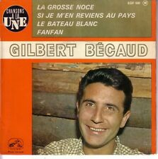GILBERT BECAUD FRENCH EP - LA GROSSE NOCE + 3