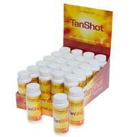 SunShot Tan Shot Sunless Skin Deep Fake Tanning Enhancing Drink - 24 x 60ml
