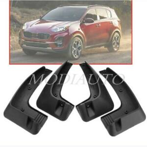 Maite For Kia Sportage MK2 2017 2018 2019 QL Series Car Front and Rear Mud Flaps Splash Guards Fender Mudguard 4Pcs
