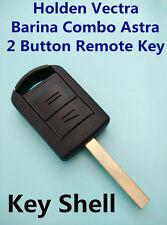 Holden Vectra Barina Combo Astra 2 Button Remote Key Fob Case Shell