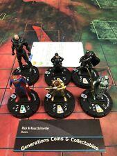 HEROCLIX Man of Steel Starter set of 6 #101-106