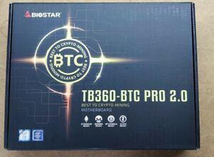Biostar tb360-btc Pro 2.0 Mining Motherboard BTC, ETH, RVN, LTC, Dogecoin...