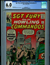 Sgt. Fury and His Howling Commandos #2 CGC 6.01965 Marvel Comic Amricons K4