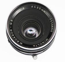 Minolta 35mm f4 QE   #1110650 ........... Minty