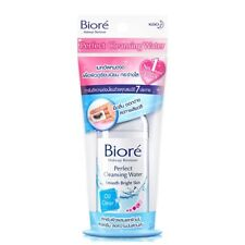 90 ml. Biore Makeup Remover Perfect Cleansing Water Smooth Bright Oil Clear