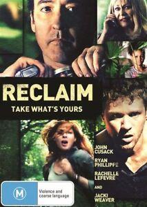 Reclaim DVD 2014 John Cusack, Ryan Phillippe, Rachelle Lefevre Thriller Movie