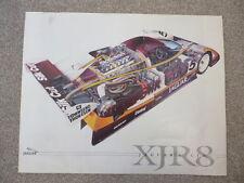 Silk Cut/TWR Jaguar Racing XJR8 - Le Mans - 1987 Poster/Print - Lammers/Watson
