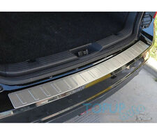 FIT FOR 07-14 FORD EDGE REAR BUMPER PROTECTOR STEP PANEL BOOT COVER SILL PLATE