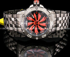 Invicta Men Speedway Turbine Automatic NH35A Black Red Dial Gunmetal Watch