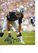 Willie Brown Oakland Raiders Signed 8x10 Photo