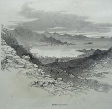 O'Connell's Ireland DERRYNANE ABBEY Original Victorian Print 1846
