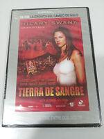 TIERRA DE SANGRE DVD SLIM ESPAÑOL ENGLISH HILARY SWANK Nueva