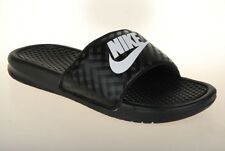 WMNS Nike Benassi JDI Black Diamond Womens Sandal Slides Slippers 343881-011 UK 6.5