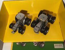 RARE John Deere Company Edition Ertl 1/64 100th Anniv 8400R & 9570R Tractor Set