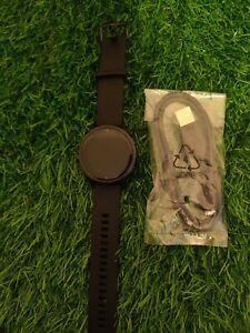 Garmin Venu GPS Running Watch - Black with Slate Stainless Steel Bezel