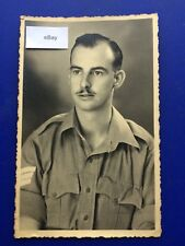 WW2 Photograph 1942 Middle East Force MEF Unknown Soldier Ron